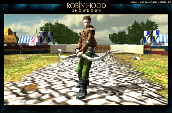 The Robin Hood Showdown game - Made with Unity3D